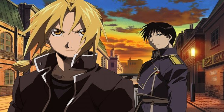 Fullmetal-Alchemist-Edward-and-Mustang