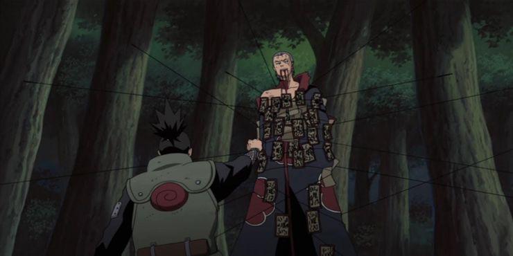 Hidan-Shikamaru-battle