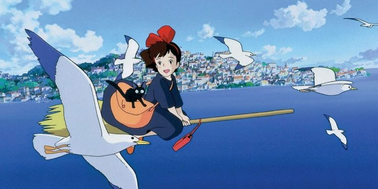 Kiki-And-Seagulls-In-Kikis-Delivery-Service
