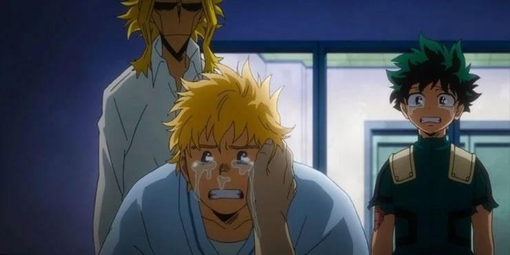 My-Hero-Academia-Mirio-All-Might-Deku-Crying-Hospital