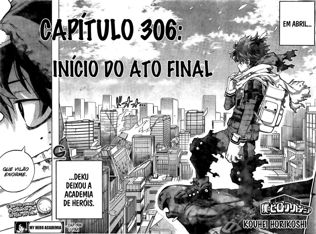 mangá de boku no hero