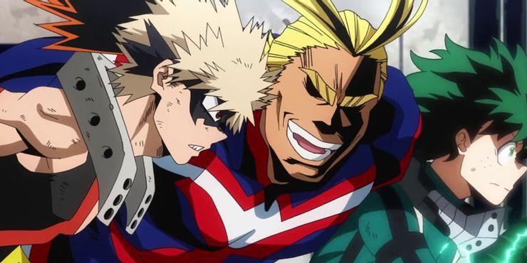 Katsuki-Bakugo-All-Might-And-Deku-In-My-Hero-Academia